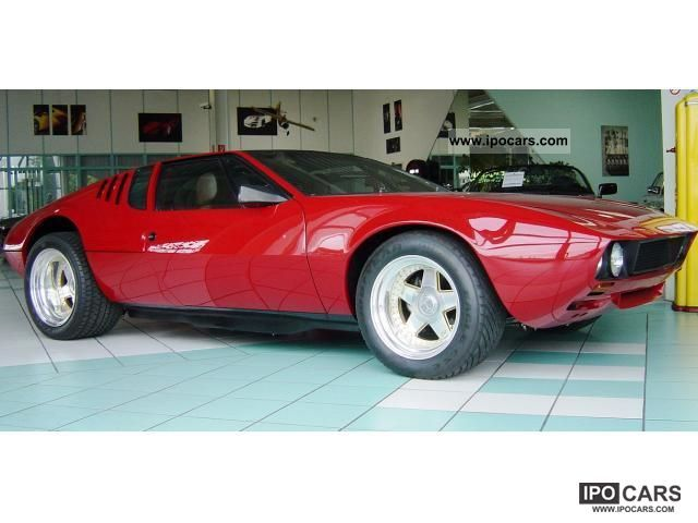 DeTomaso  Mangusta in top condition 1969 Vintage, Classic and Old Cars photo