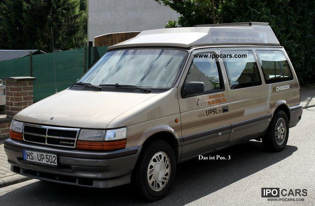 Chrysler  Voyager 3.3 Auto ES to sleep with elevating roof 1993 Liquefied Petroleum Gas Cars (LPG, GPL, propane) photo