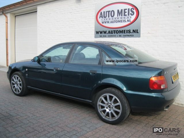 1995 audi a4 20v 92 kw car photo and specs