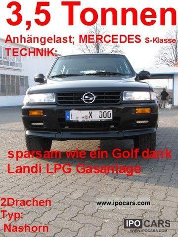 Ssangyong  Mercedes M104 E32 Musso LPG Autogas Landi OMEGAS 2012 Liquefied Petroleum Gas Cars (LPG, GPL, propane) photo