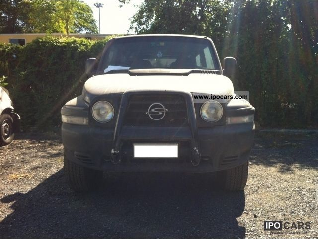 1998 Ssangyong  Korando 2.9 TD EL 4WD Off-road Vehicle/Pickup Truck Used vehicle photo