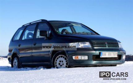 1999 Mitsubishi  4x4 Space Wagon 2.4 GDI w. VW T. .. Van / Minibus Used vehicle photo