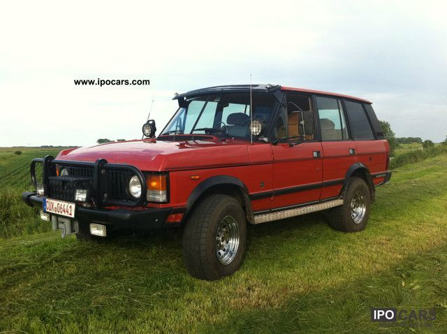 Land Rover  Range Rover LPG very neat 1.Hand 1983 Liquefied Petroleum Gas Cars (LPG, GPL, propane) photo