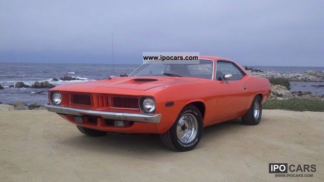 Plymouth  Barracuda coupe 1973 Vintage, Classic and Old Cars photo