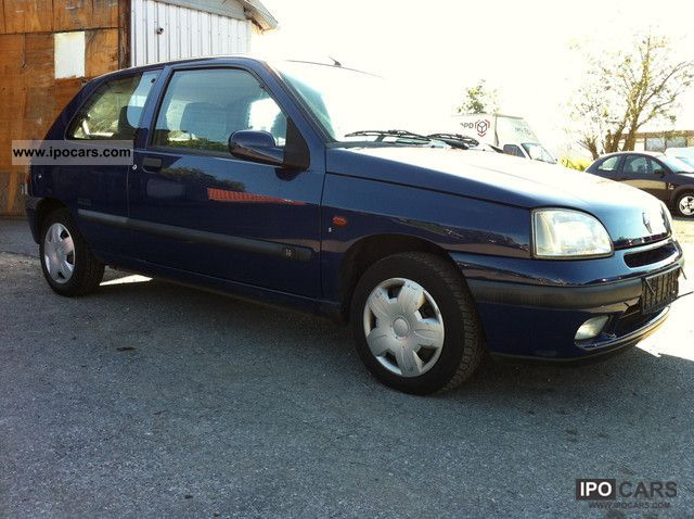 1997 renault clio limited 1 4 air automatic maintained car photo and specs. Black Bedroom Furniture Sets. Home Design Ideas