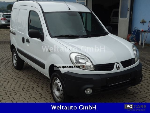 2007 Renault  Kangoo 1.6 16V * air * 4x4 truck * Perm. * Euro 4 * Van / Minibus Used vehicle photo