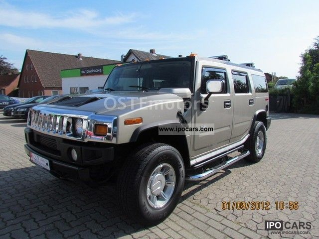 Hummer  KME H2 gas system with 160l tank 2003 Liquefied Petroleum Gas Cars (LPG, GPL, propane) photo