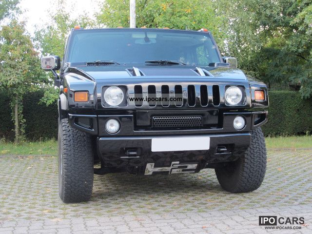 2005 Hummer  H2 black leather (Europe model) Foreign Dello HH Off-road Vehicle/Pickup Truck Used vehicle photo