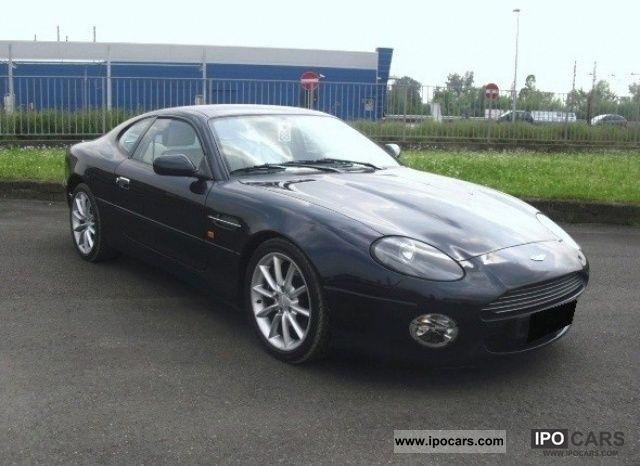 2003 Aston Martin  DB7 V12 Vantage Coupe Sports car/Coupe Used vehicle photo
