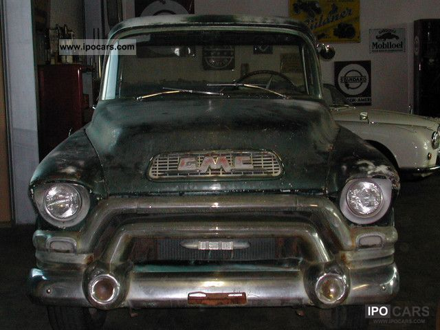 GMC  Pick-up 1955 Vintage, Classic and Old Cars photo