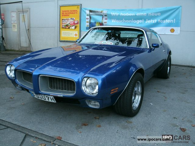 Pontiac  Firebird Esprit 1972 Vintage, Classic and Old Cars photo