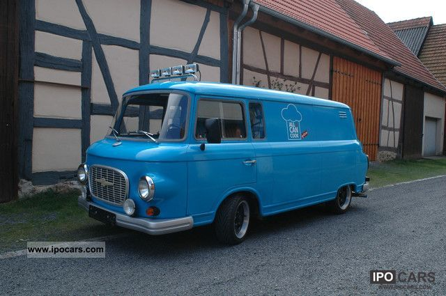 Wartburg  Barkas B 1000 1977 Vintage, Classic and Old Cars photo