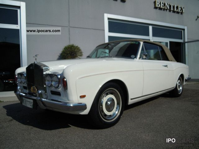 Rolls Royce  Corniche 1968 Vintage, Classic and Old Cars photo