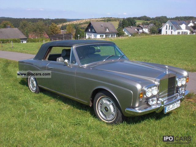 1972 Rolls Royce  Corniche Cabrio / roadster Classic Vehicle photo