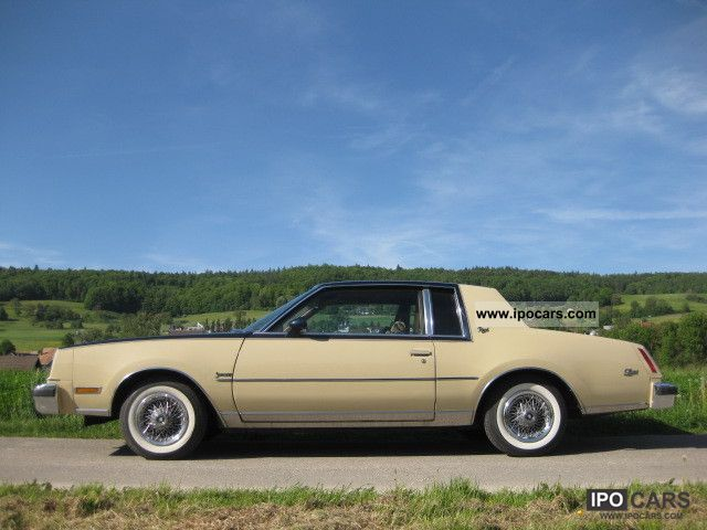 1981 Buick Regal Somerset Car Photo And Specs