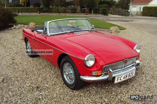 MG  MGB 1962 Vintage, Classic and Old Cars photo