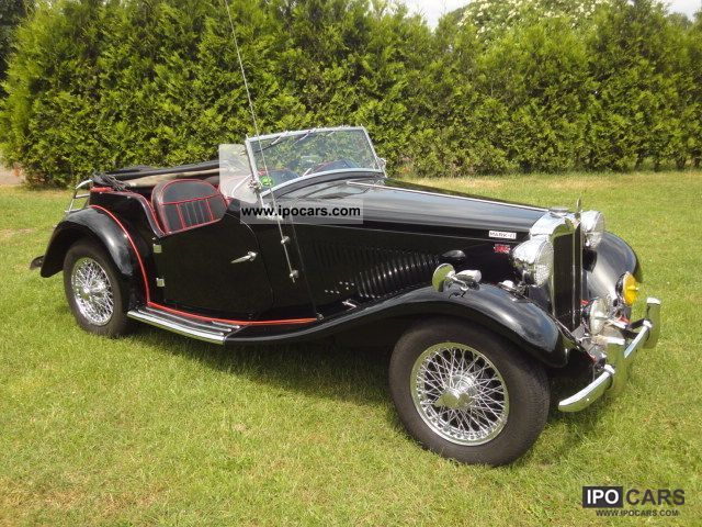 MG  TD Mark II C Convertible 1952 Vintage, Classic and Old Cars photo