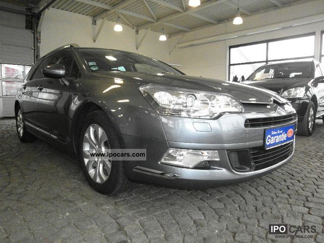 2009 citroen c5 tourer 2 0 16v aut exclusive from 1 hand car photo and specs. Black Bedroom Furniture Sets. Home Design Ideas