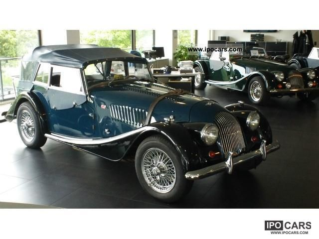 Morgan  Plus 4 4 seater with H-plates 1962 Vintage, Classic and Old Cars photo