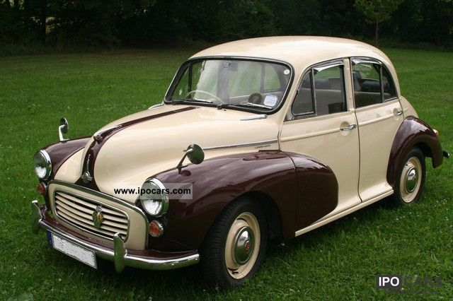 Austin  Morris Minor 1000 4-door H-plates 1972 Vintage, Classic and Old Cars photo