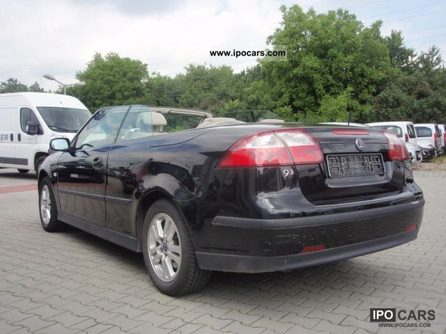 2006 saab 9 3 cabrio 150 koni skora car photo and specs. Black Bedroom Furniture Sets. Home Design Ideas