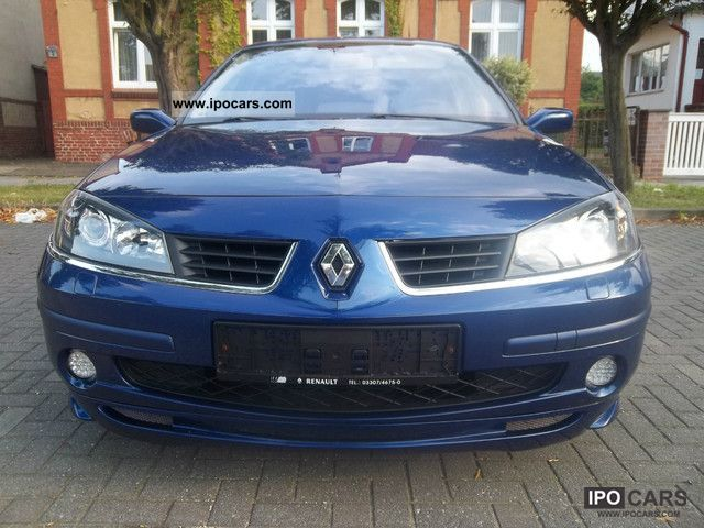2006 Renault Laguna Gt 2 0 Turbo Car Photo And Specs