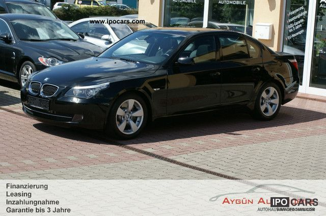 2008 BMW 530i Sport Auto. Leather / Navi Prof. / SD / xenon - Car ...