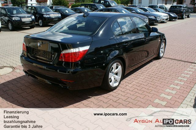 2008 Bmw 530i Sport Auto Leather Navi Prof Sd Xenon Car