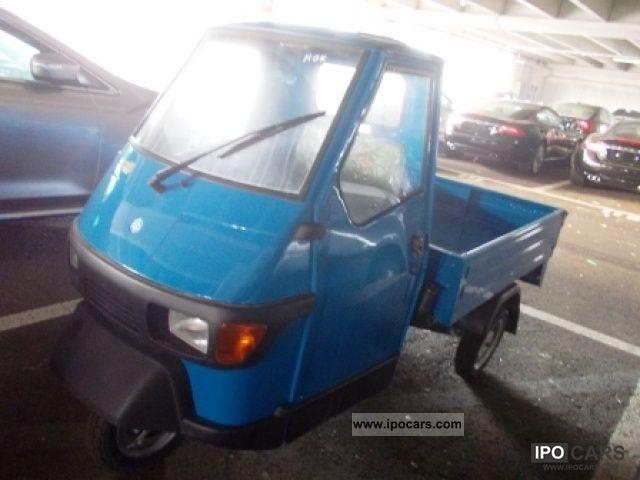 2012 Piaggio  Ape 50 Pian. Lungo Limousine New vehicle photo