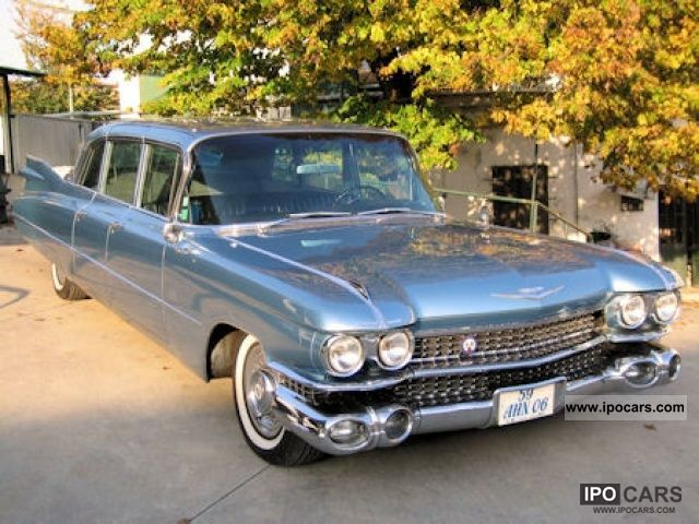 Cadillac  Fleetwood Limousine 1959 Vintage, Classic and Old Cars photo