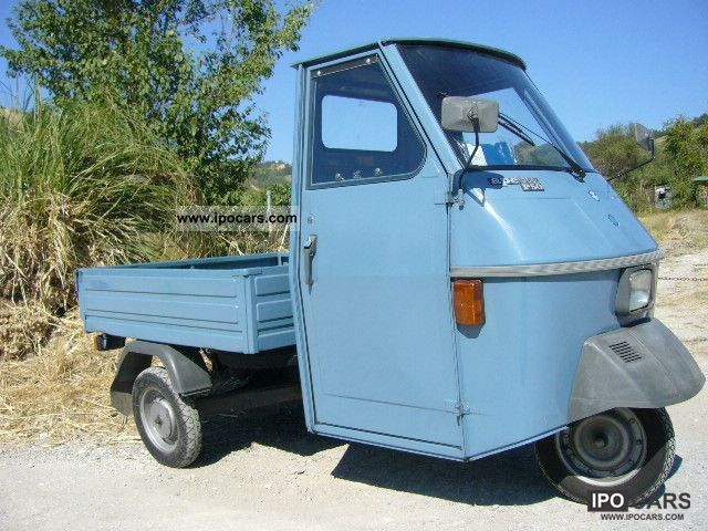 1988 Piaggio Ape Light Blue 50 Car Photo And Specs