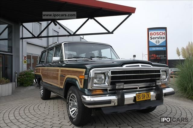Jeep  Wagoneer 5.9 4WD AUTO SUPER MOOI ZO! 1979 Liquefied Petroleum Gas Cars (LPG, GPL, propane) photo