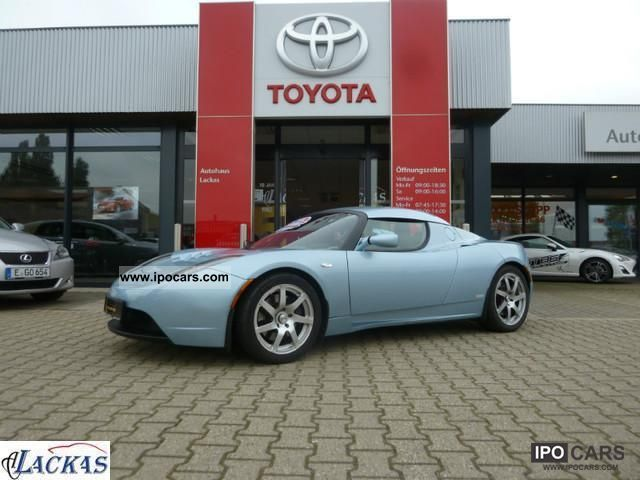 Tesla  Signature Roadster 250 * Electric + Navi + leather +1 hand * 2009 Electric Cars photo