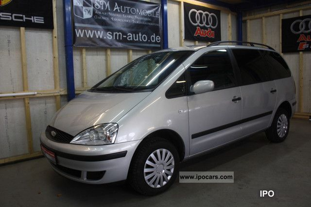 Ford  Galaxy 2.3 16V Ambiente * GAS ** NEW MODEL * 2000 Liquefied Petroleum Gas Cars (LPG, GPL, propane) photo