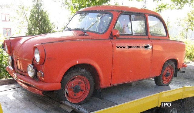 Trabant  P 50, barn find! BJ for 1959 hobbyists 1959 Vintage, Classic and Old Cars photo