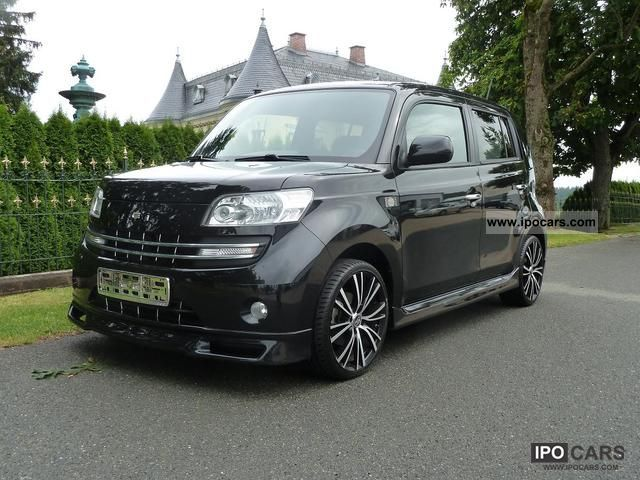 daihatsu materia  hand black edition  car
