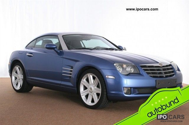 2007 chrysler crossfire 3 2 leather black only 14 560 km car photo and specs. Black Bedroom Furniture Sets. Home Design Ideas