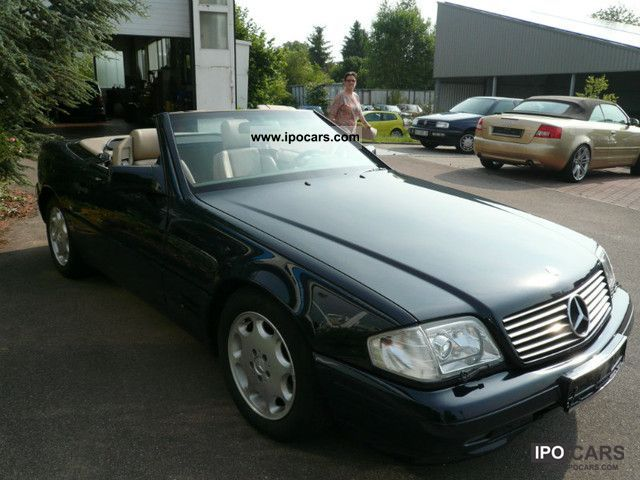1996 mercedes benz sl class sl 320 car photo and specs. Black Bedroom Furniture Sets. Home Design Ideas