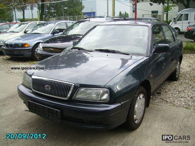 1998 Daihatsu  Applause XIC Climate Model 1999 Limousine Used vehicle photo