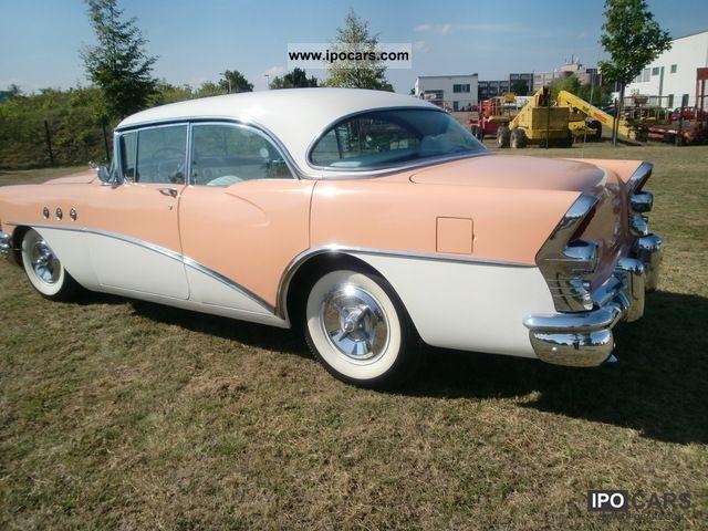1955 buick rivera special 4 door h plates car photo for 1955 buick roadmaster 4 door