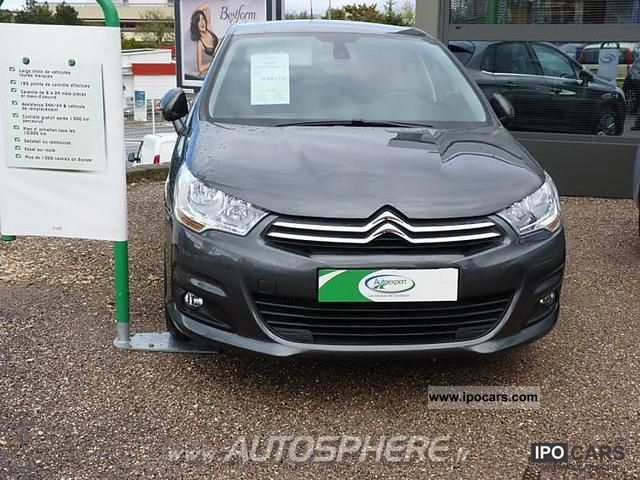 2011 Citroen  C4 1.6 HDi110 FAP Confort 5p Limousine Used vehicle photo