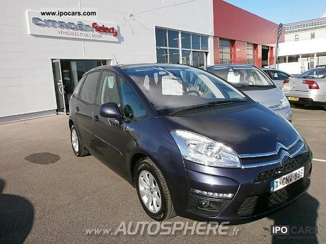 2012 Citroen  C4 Picasso 1.6 HDi110 FAP Confort Van / Minibus Used vehicle photo