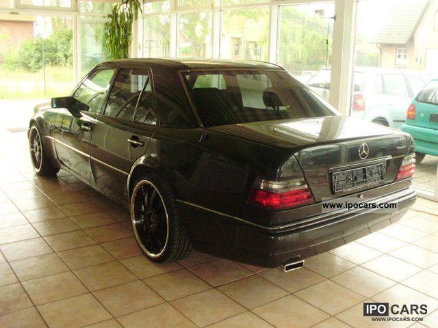 1992 mercedes benz 500 e d3 kat navi 20 inch looker for Mercedes benz lookers