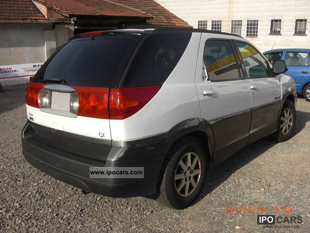 Volvo Sports Car >> 2001 Buick Rendezvous - Car Photo and Specs