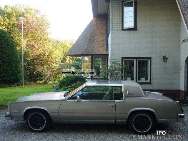 1986 cadillac eldorado car photo and specs ipocars com