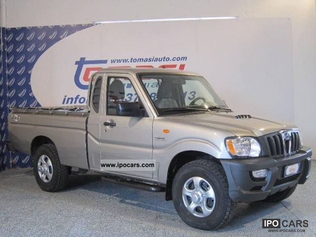 2010 Mahindra Goa CRDE 2 2 16V 4WD SC Pick-Up - Car Photo and Specs