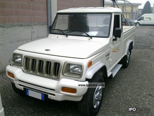 2011 Mahindra  Bolero 2.5 CRDE 2WD SC Pick Up CABINA SINGOLA Other Pre-Registration photo