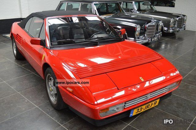 1989 ferrari mondial car photo and specs. Black Bedroom Furniture Sets. Home Design Ideas