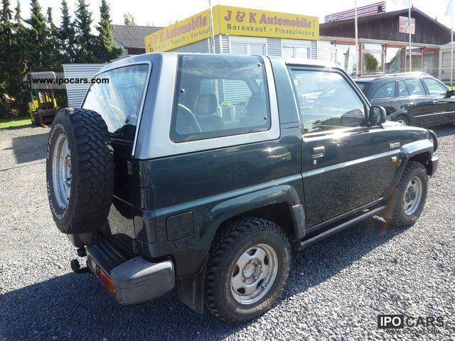 1997 Daihatsu Feroza 16 Jgermeister Towbar 2 Hand Car Photo