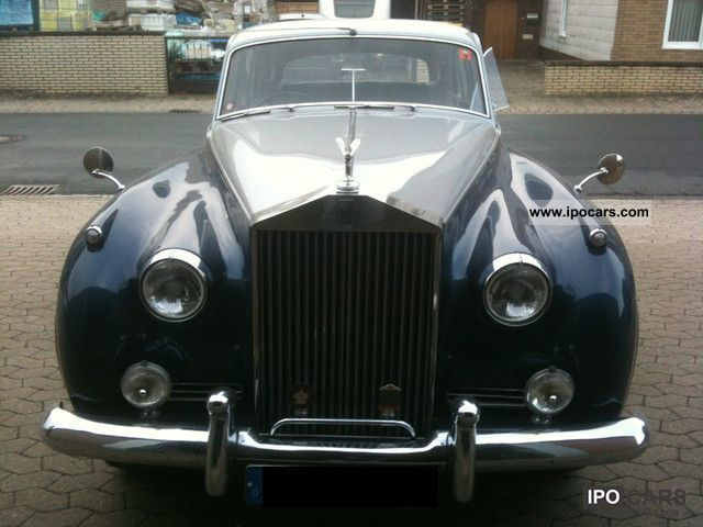 Rolls Royce  Silver Cloud II + Automatic RHD + + + H-plates 1961 Vintage, Classic and Old Cars photo